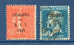 France - YT N° 264 Et 265 - Neuf Sans Charnière Et Oblitéré - 1930 - Francia