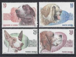 """SPAIN....."""" 1973."""".......DOGS.......SET OF 4......MNH... - Honden"""