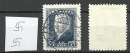 LETTLAND Latvia 1937 Michel 259 WM Normal Vertical O Nice Cancel Riga - Lettland