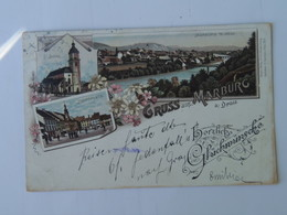 Maribor Marburg 1229 Litho Ed L Glaser 1896 - Slovénie