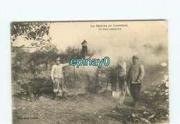 WW - GUERRE 1914-18 - Guerre En Lorraine - Un Four Crématoire - Crémation - Déces Cliché Emile Fournier BADONVILLER - Guerre 1914-18