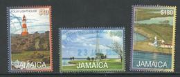 Jamaica 2016, Yv 1201-03, Onvolledige Reeks,  Hoge Waarde, Vuurtorens - Lighthouses - Phares - Leuchturm,  Gestempeld - Jamaique (1962-...)