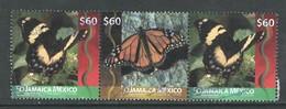 Jamaica 2017  Yv 1209-1210, Samenhangend  Gestempeld - Jamaique (1962-...)