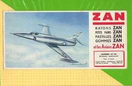 BUVARD & Blotting Paper   : ZAN  Avions LOCKEED X F 90 - Sucreries & Gâteaux