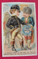Chromo Petit-beurre LU Lefèvre-Utile. Chromo Image. Vers 1880-1890. - Lu