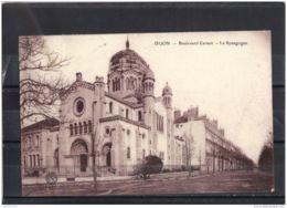 21148 . DIJON . BOULEVARD CARNOT . LA SYNAGOGUE  . CIRCULEE EN 1916 - Dijon