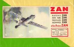 BUVARD & Blotting Paper  :  ZAN  Avions REPUBLIC THUNDERJET  F84 - Sucreries & Gâteaux