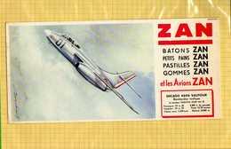 BUVARD :Batons De Zan Les Avions SNCASO 4050 VAUTOUR - Sucreries & Gâteaux