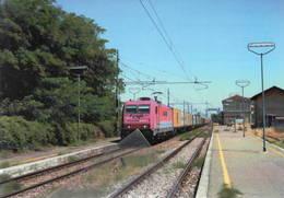 697 OceanoGate E.483.018 Bombardier Collecchio Parma Rairoad Trein Railweys - Trains