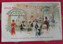 Chromo Petit-beurre LU Lefèvre-Utile. Chromo Image. 1900. Grand Prix Paris Exposition. Art Nouveau - Lu