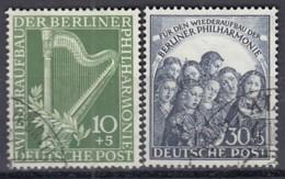 BERLIN  72-73, Gestempelt, Philharmonie 1950 - Gebraucht