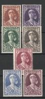 BELGIQUE 1931 YT N° 326 à 332 * - Unused Stamps