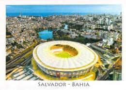 STADE Stadium ( BRASIL Brésil ) SALVADOR De BAHIA Fonte Nova - CPM Grand Format - Estadio Stadion El Stadio Lo Statio - Stades