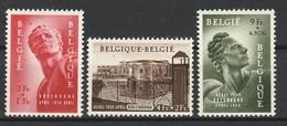 BELGIQUE 1954 YT N° 943 à 945 * - Nuovi