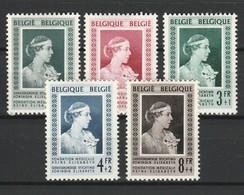BELGIQUE 1951 YT N° 863 à 867 * - Ongebruikt
