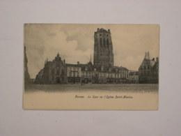 Furnes :  La Tour De L'église Saint-Nicolas - Veurne