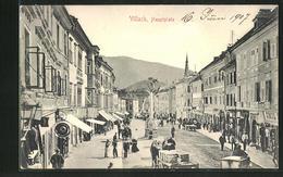 AK Villach, Hauptplatz Mit Geschäften - Autriche