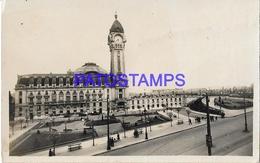131967 FRANCE LIMOGES STATION TRAIN & SQUARE MAISON DIEU  POSTAL POSTCARD - Francia
