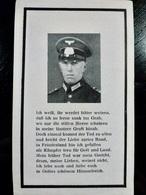 AVIS DECES WW2 WWII : Soldat Wehrmacht JOSEF WOLF Tué En 1944 à L'age De 40 Ans - War, Military