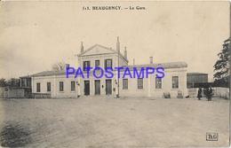 131969 FRANCE BEAUGENCY STATION TRAIN POSTAL POSTCARD - Francia