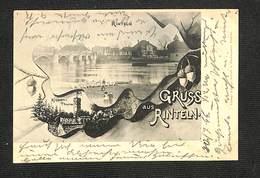 ALLEMAGNE - RINTELN - Gruss Aus RINTELN - 1899 - RARE ,#ALL/017 - Rinteln