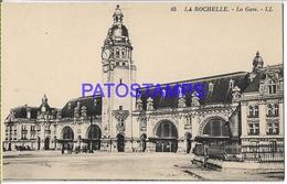 131990 FRANCE ROCHELLE STATION TRAIN POSTAL POSTCARD - Francia
