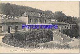 131994 FRANCE ELBEUF THE STATION TRAIN POSTAL POSTCARD - Francia