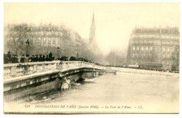 75007 PARIS - Inondations De 1910 - Le Pont De L'Alma - Le Zouave A De L'eau Presque Au Cou - Arrondissement: 07