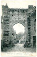 28220 MONTIGNY LE GANNELON - La Porte Roland - Jolie Carte 1918 - Montigny-le-Gannelon