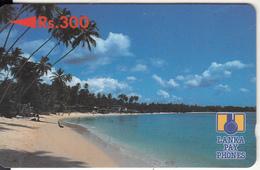 SRI LANKA(GPT) - Beach, CN : 5SRLB/B(reverse 1), Used - Sri Lanka (Ceylon)