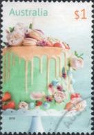 2019 AUSTRALIA Greetings: Birthday Cake $1 VF Used Sheet Stamp Michel No. 4920 - Oblitérés