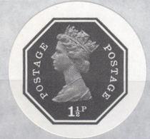 GREAT BRITAIN 1974 E2 Octagon 1½p Ser.III IMPERF.[PRINT:1000] - Grossbritannien