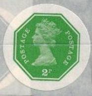 GREAT BRITAIN 1974 E2 Octagon 2p Ser.III IMPERF.[PRINT:1000] - Grossbritannien