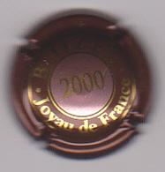 Capsule Champagne BOIZEL ( 18a ; JOYAU DE FRANCE 2000 Centre Rosé , Contour Marron Foncé ) {S15-20} - Non Classés
