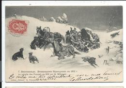 Russie La Retraite Des Français 1812 - Russie