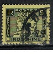 INDOCHINE            N°  YVERT     215  ( 5 )       OBLITERE       ( OB 07/18 ) - Indochine (1889-1945)