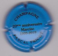 Capsule Champagne FRICOT Pascal ( 30 ; 20ème Anniversaire Marciac , Bleu Et Noir ) {S15-20} - Non Classés