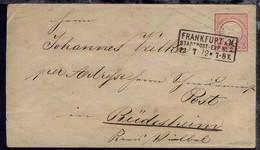 3 Kr. Kleiner Schild Mit R3 FRANKFURT A.M. STADTPOST-EXP. No 2 12.7.72  - Deutschland