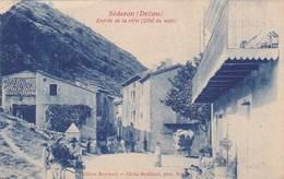 Séderon - Entrée De La Ville (côté Du Midi) - Attelage - Ane - Animée - Charette - CAD - Ohne Zuordnung