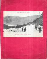 SAISON D'HIVER DANS LES VOSGES - Une Caravane De Skieurs à Travers La Montagne - VIS - - Sonstige Gemeinden