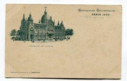 CPA  75 : PARIS  Exposition 1900   Pavillon D'Italie   VOIR  DESCRIPTIF  §§§ - Expositions