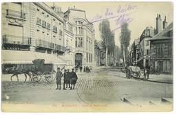 CPA 03 MOULINS SERIE P. PAQUET N°279 AVENUE NATIONALE - Moulins