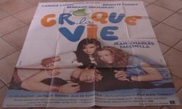 AFFICHE CINEMA ORIGINALE FILM CROQUE LA VIE TACCHELLA LAURE FOSSEY GIRAUDEAU TBE 1981 - Posters