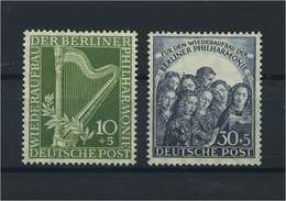 BERLIN 1950 Nr 72-73 Postfrisch (118394) - [5] Berlino