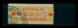 DDR ZKD 1958 Nr 18I M Gestempelt (401469) - [6] Repubblica Democratica