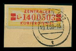 DDR ZKD 1958 Nr 19I L Gestempelt (401478) - [6] Repubblica Democratica