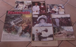 AFFICHE CINEMA ORIGINALE FILM FITZCARRALDO + 7 PHOTOS EXPLOITATION HERZOG KINSKI 1982 TBE MASCII - Affiches & Posters