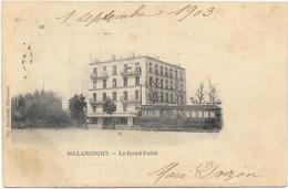 BILLANCOURT : LE ROND POINT - Boulogne Billancourt