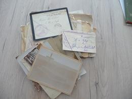 Archive Photos Lettres Enveloppes Cachets Militaires Tirailleurs Sahariens Aoulef Corps D'occupation Du Tidiklet - Documents