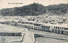 Cpa View Of CAMP ADEN - Yémen